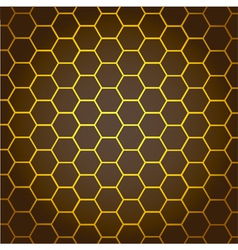 Abstract Background honeycombs vector