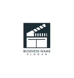 Film logo and symbols template vector
