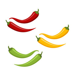Hot chilli pappers vector