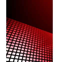 red waveform background eps 8 vector image