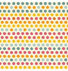 Seamless pattern with Multi-colored circles vector