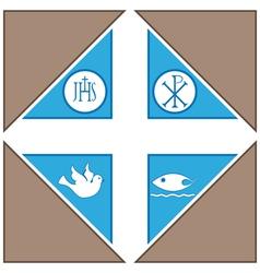 Religius Symbols vector image vector image