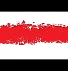 grunge strip background blood vector image vector image