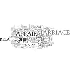 Is there hope to save a marriage when one spouse vector