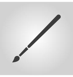 The brush icon Brush symbol vector image vector image
