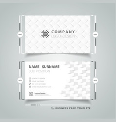abstract gray paper cut design business vector image