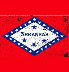 arkansas flag vector image