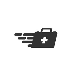 first aid icon design template isolated vector image