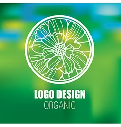 Floral Logo new 0001 vector