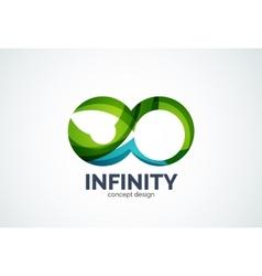 Infinity company logo icon vector image