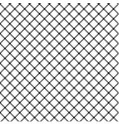mesh white check ornament seamless pattern vector image