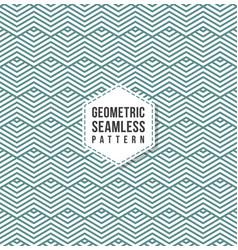 seamless pattern modern stylish geometric texture vector image