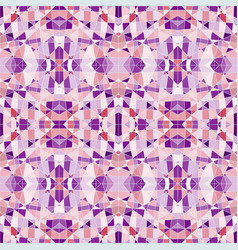 seamless pattern mosaic with purple pieces vector image