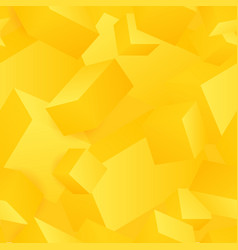 Seamless pattern of abstract 3d cubes vector