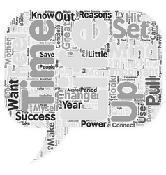 Set Your Mind To Win text background wordcloud vector image