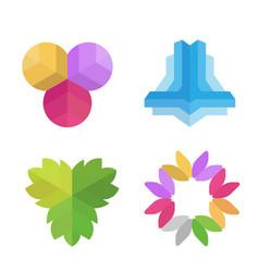 various company logo vector image