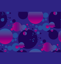 vivid gradient circles repeatable motif vector image