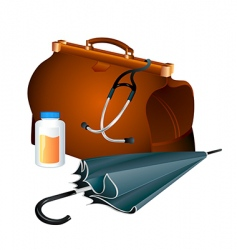 family doctor survival kit vector image vector image