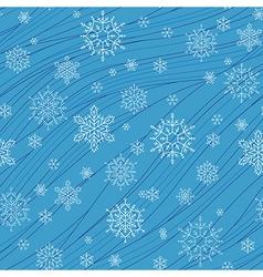 pattern snow vector image