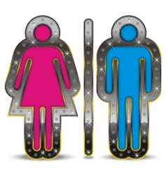 gender symbol vector image