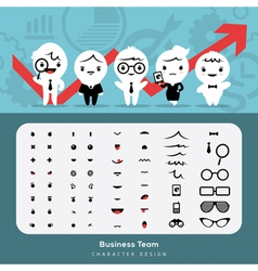 Create Business Team vector image