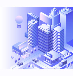 Modern city landscape vector