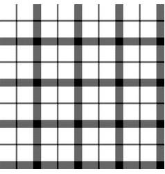 Monochrome balck white check pixel seamless vector