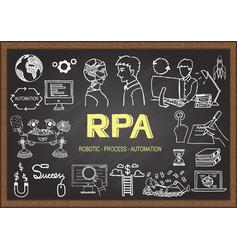 rpa vector image