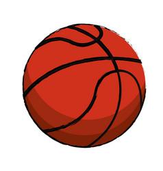 basketball sport ball image vector image