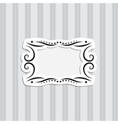 Background and Frame vector image