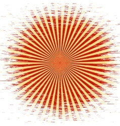 Retro Red and yellow Pattern with white background vector image