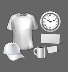 corporate design template vector image vector image