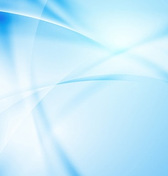 Abstract modern blue light ray background vector