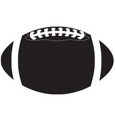 American football ball black vector