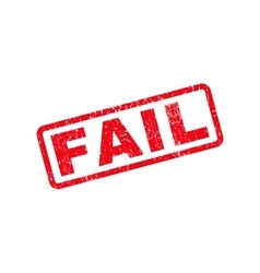 Fail Text Rubber Stamp vector
