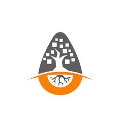 Incubator tree app vector