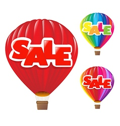 Sale Air Balloon vector image