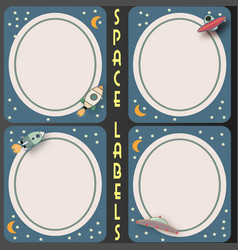 Space labels vector