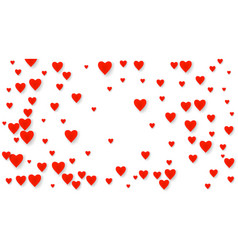 valentines heart cart love symbol isolated vector image