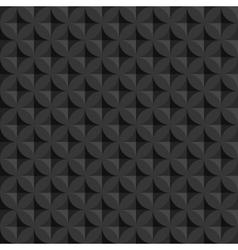 vintage abstract circle seamless pattern vector image