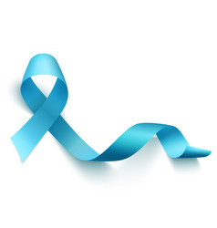 world prostate cancer day symbol vector image