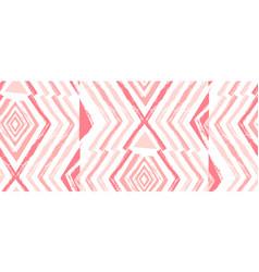 hand drawn navajo seamless patternaztec vector image vector image