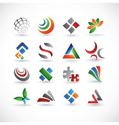 various design elements vector image vector image