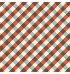 bicolor gingham tablecloth pattern background vector image