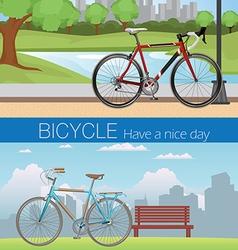 Bicycle wheel Set vector image