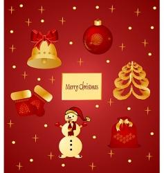 Christmastimes vector image