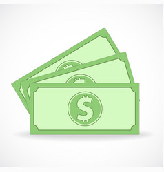 dollar bill stock design vector image