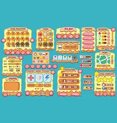 Game gui 53 vector