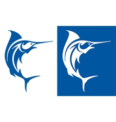 Marlin Fish Symbol vector image