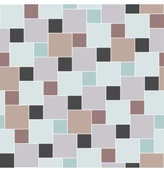 pastel colored tiles seamless pattern vector image